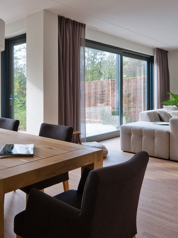 Bedrijfsinterieur modelwoning Nijmegen Laguna